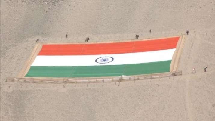lt, tiranga flag, tiranga, khadi tiranga, indian army