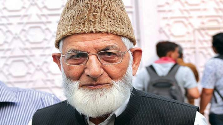Syed Ali Shah Geelani's grandson sacked from govt service for aiding terrorist activities in J&K