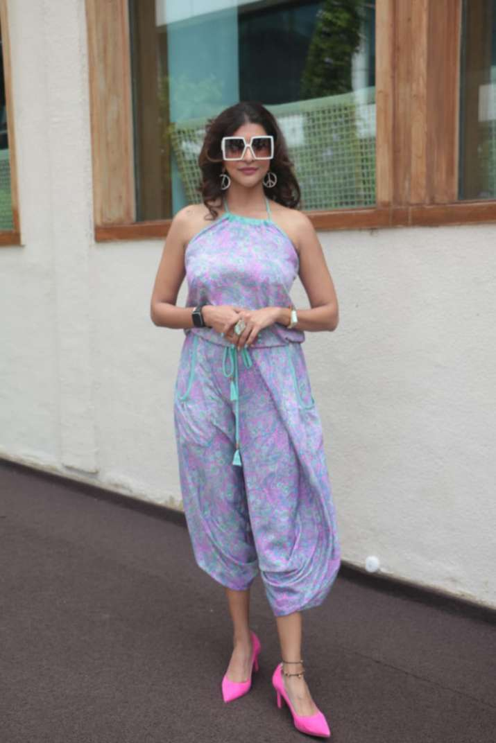 India Tv - Laxmi Manchu at Rakul Preet Singh's birthday party