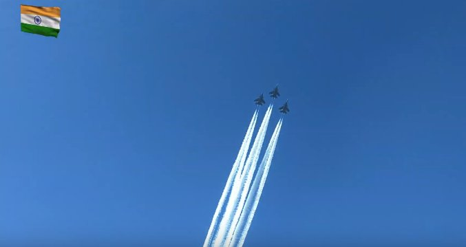 IAF Flypast at Republic Day Parade - India Tv