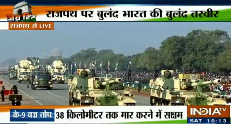 Republic Day Parade 2019 - India Tv