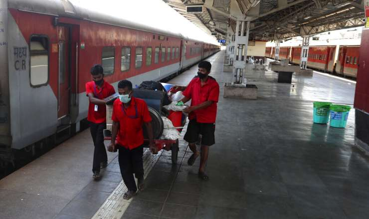 coronavirus outbreak-Indian railways -Photo Gallery trains - India Tv