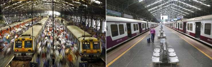 Covid-19 Photos: India's vast railway system closes to passengers Indian Railways photo gallery - India Tv