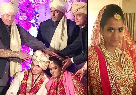 Arpita Khan wedding: Salman, Katrina, Aamir bless the newlywed (see pics) | Bollywood News – India TV