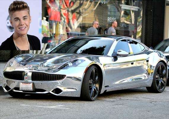 know more about justin bieber s 2012 fisker karma sports car