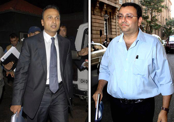 ambani mistry others meet chatterji on power sector woes