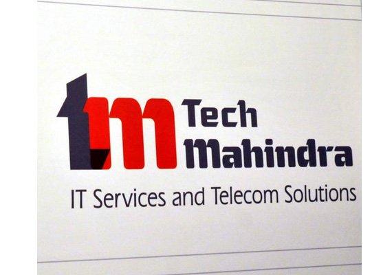 tech mahindra gains on good q2 results