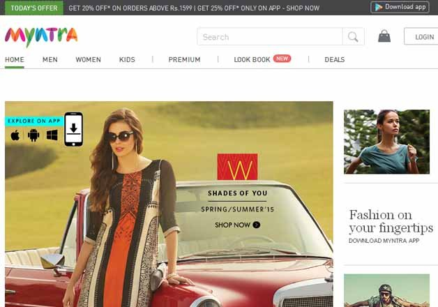 flipkart owned myntra to shut its website from may 1