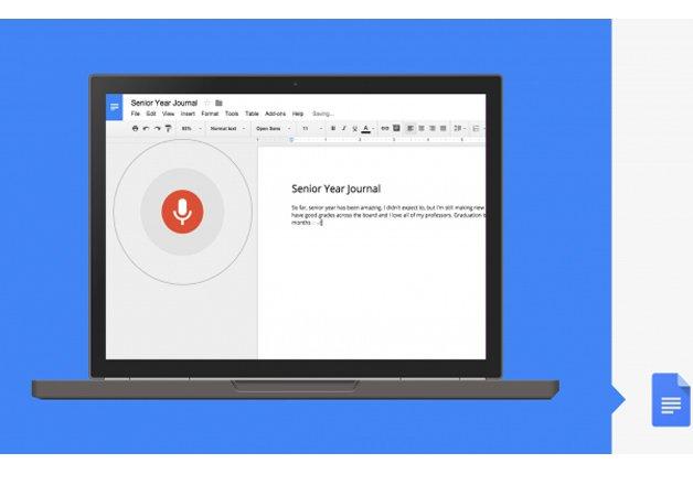 google docs now lets you edit documents using voice commands