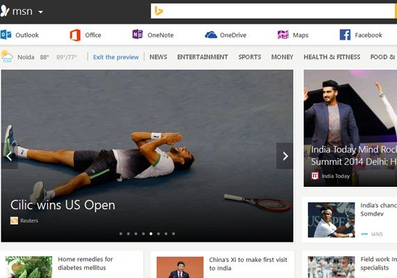 Microsoft revamps MSN with Metro flair and integrated
