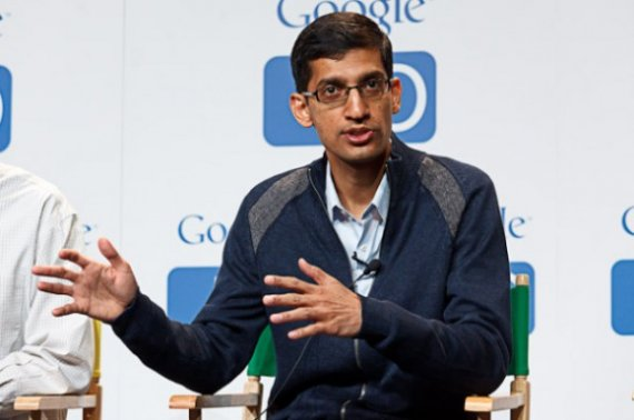india born sundar pichai is google s new product chief