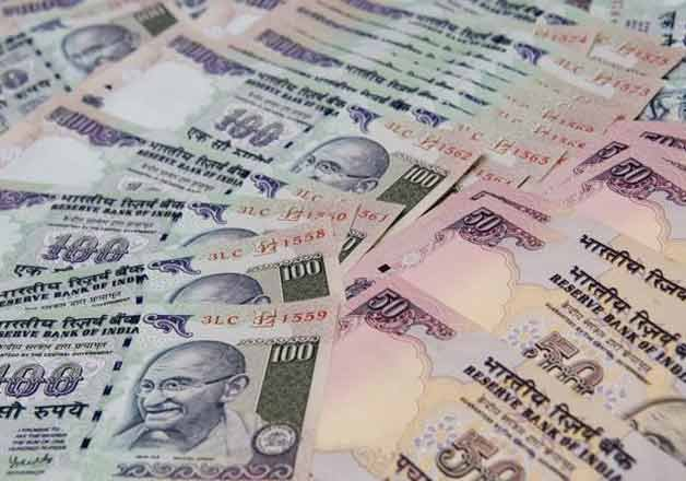 rupee gains momentum up 4 paise against dollar