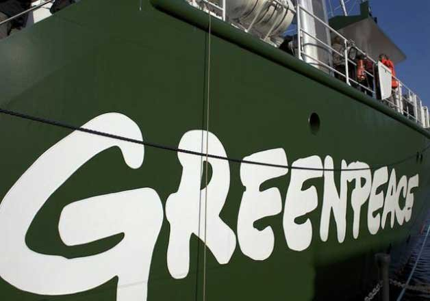 tax exemption for donations to greenpeace to be withdrawn