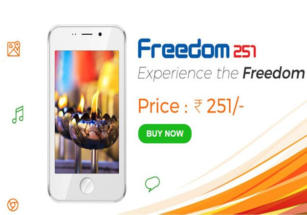 make in india has nothing to do with freedom 251 top