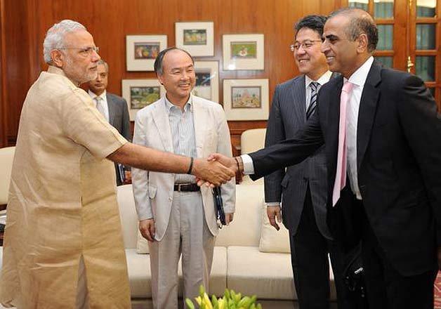 softbank bharti foxconn set up 20 billion solar power