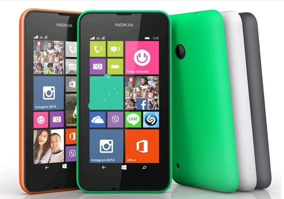lumia 530 with windows phone 8.1 goes on sale at rs 6 000