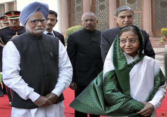 manmohan meets pratibha discusses budget session
