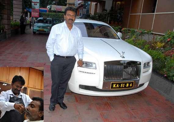 meet ramesh babu the billionaire barber who travels in
