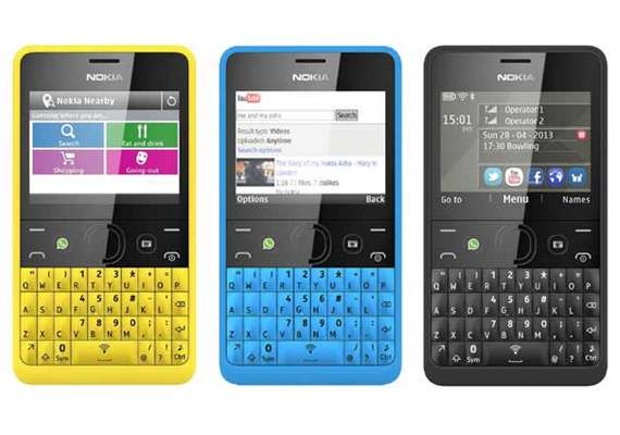 Nokia Asha 210 with Facebook button up for pre-order at Rs