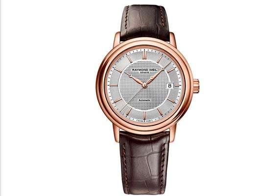 raymond weil launches maestro trois aiguilles timepiece