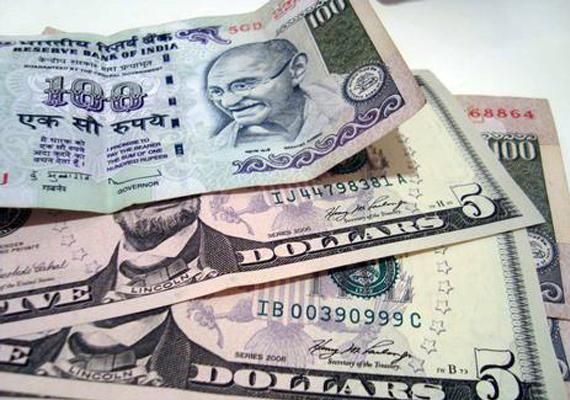rupee up 7 paise vs dollar