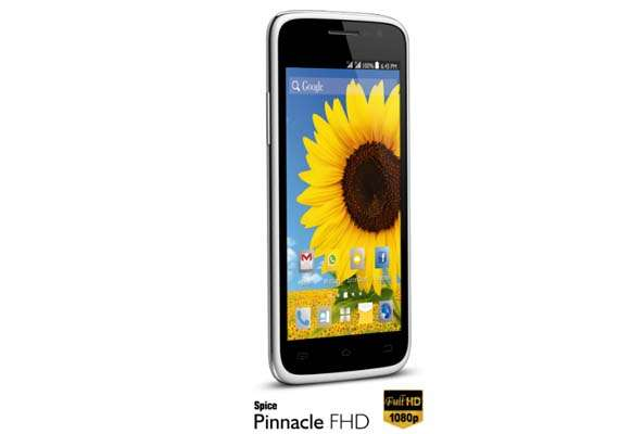 spice pinnacle fhd launched for rs 16 990