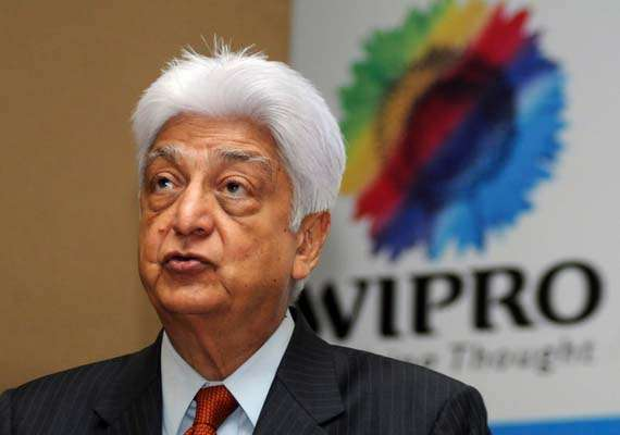 wipro poised for double digit growth azim premji