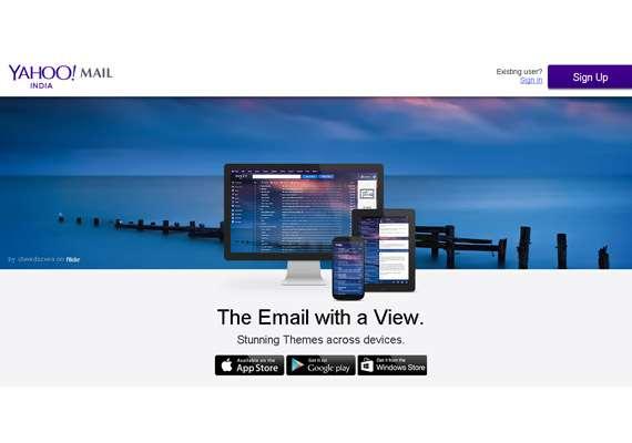 Yahoo login india mail