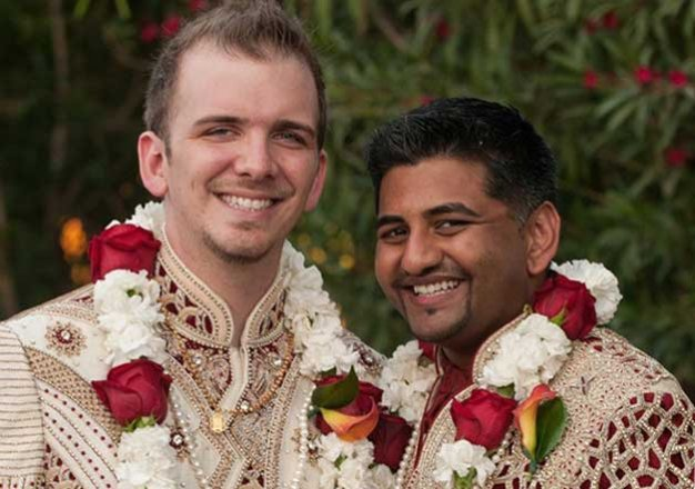 Indo American Gay Couple Married In Hindu Traditional Wedding Indiatv News Life News India Tv