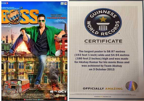 Boss Movie 2013 Akshay Kumar Poster