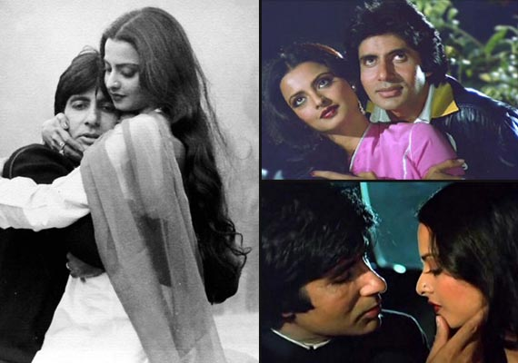 Amitabh Bachchan and Rekha to star together! (view rare pics of them) |  Bollywood News – India TV