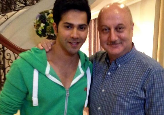 anupam enjoyed main tera hero journey