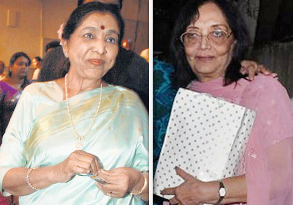 asha bhosle seeks registration of fir against actress sadhna