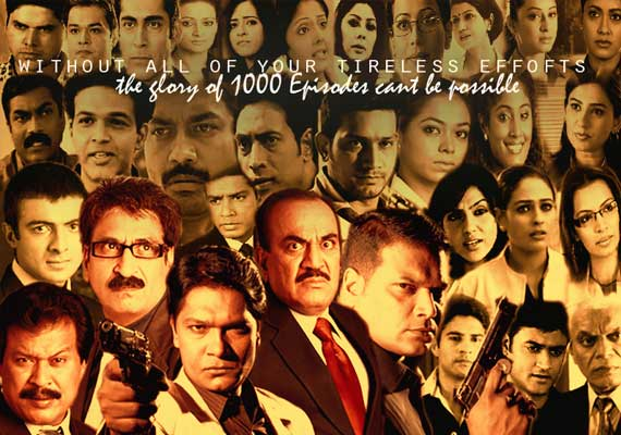 C I D' to air 1000th episode on Friday | Bollywood News