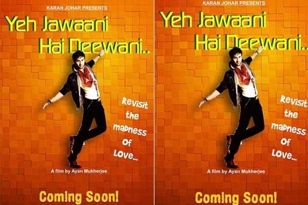 First look : Ranbir, Deepika's Yeh Jawani Hai Deewani ...