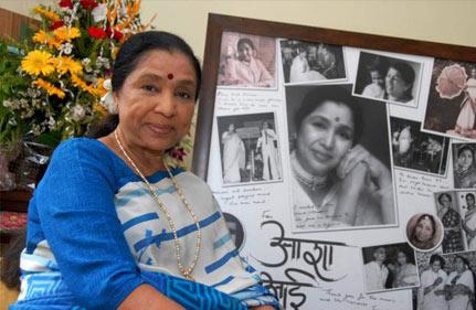 hindustan belongs to all says asha bhosale