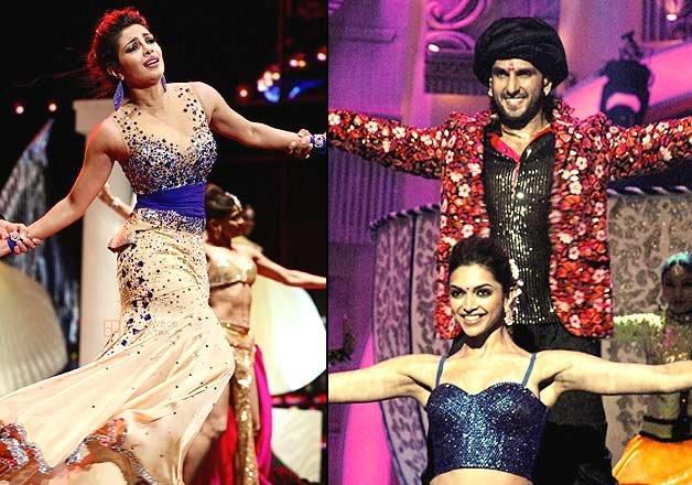 Ranveer Deepika Priyanka to dance together in Bajirao