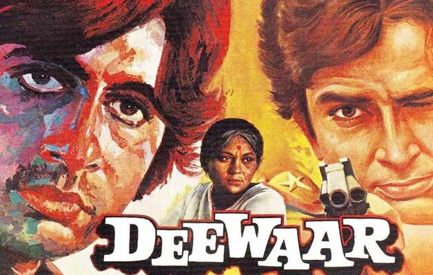 Image result for 4) Deewar (1975)