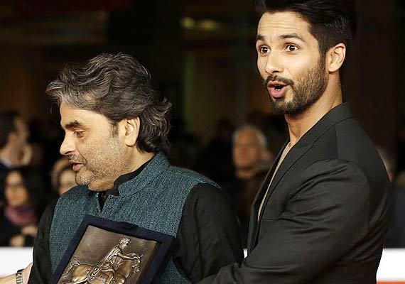 haider wins at rome film festival shahid shraddha expresses