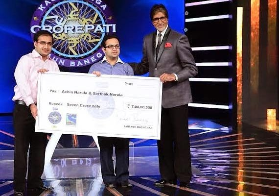 kbc 8 narula brothers from delhi win rs 7 crore a historic