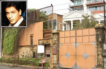 prank call triggers panic at srk s mannat in bandra