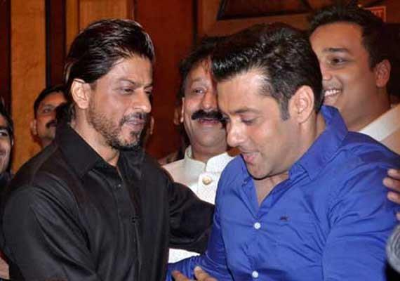 shah rukh thanks salman for promoting his film in bigg boss
