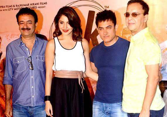 aamir anushka unveil pk teaser on diwali see pics