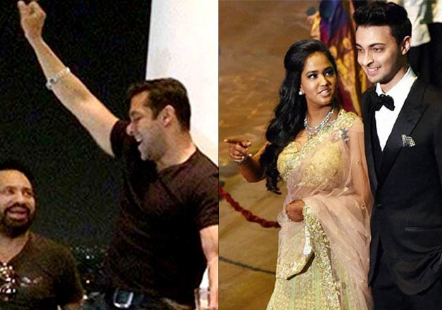 salman khan to attend arpita aayush s wedding reception in
