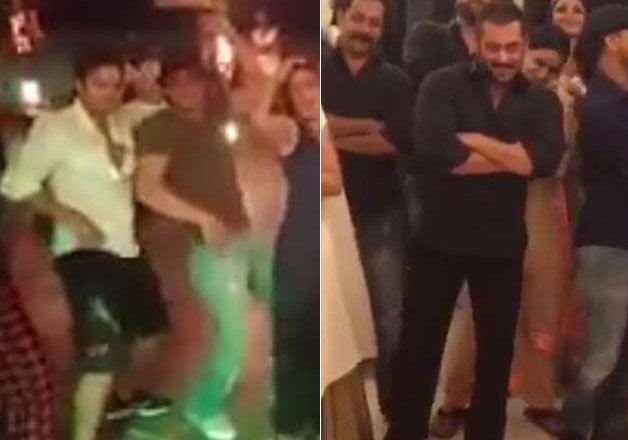 adorable when salman and shah rukh reversed their roles as