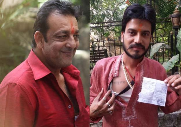 sanjay dutt is finally free. meet munnabhai s craziest fan