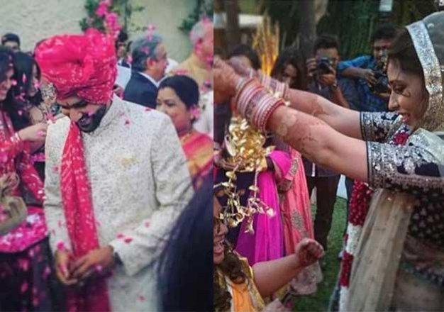 Rohit Sharma Weds Ritika Sajdeh See Pics Indiatv News Bollywood News India Tv