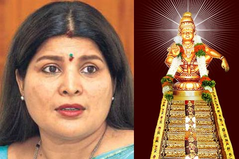 actress jaimala to be charged for touching ayappa idol in