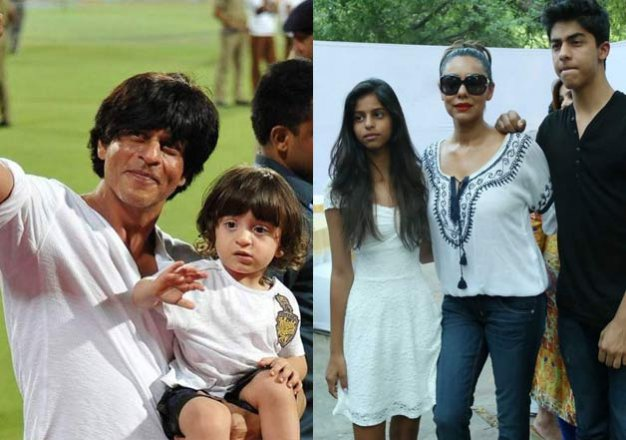 gauri khan wonders why shah rukh pampers abram more than