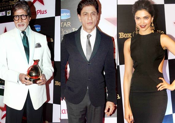 Box Office India awards: Big B, SRK, Deepika and Alia sizzle
